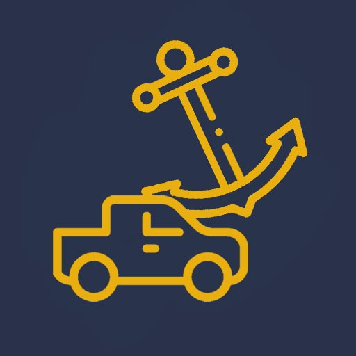 truck and anchor